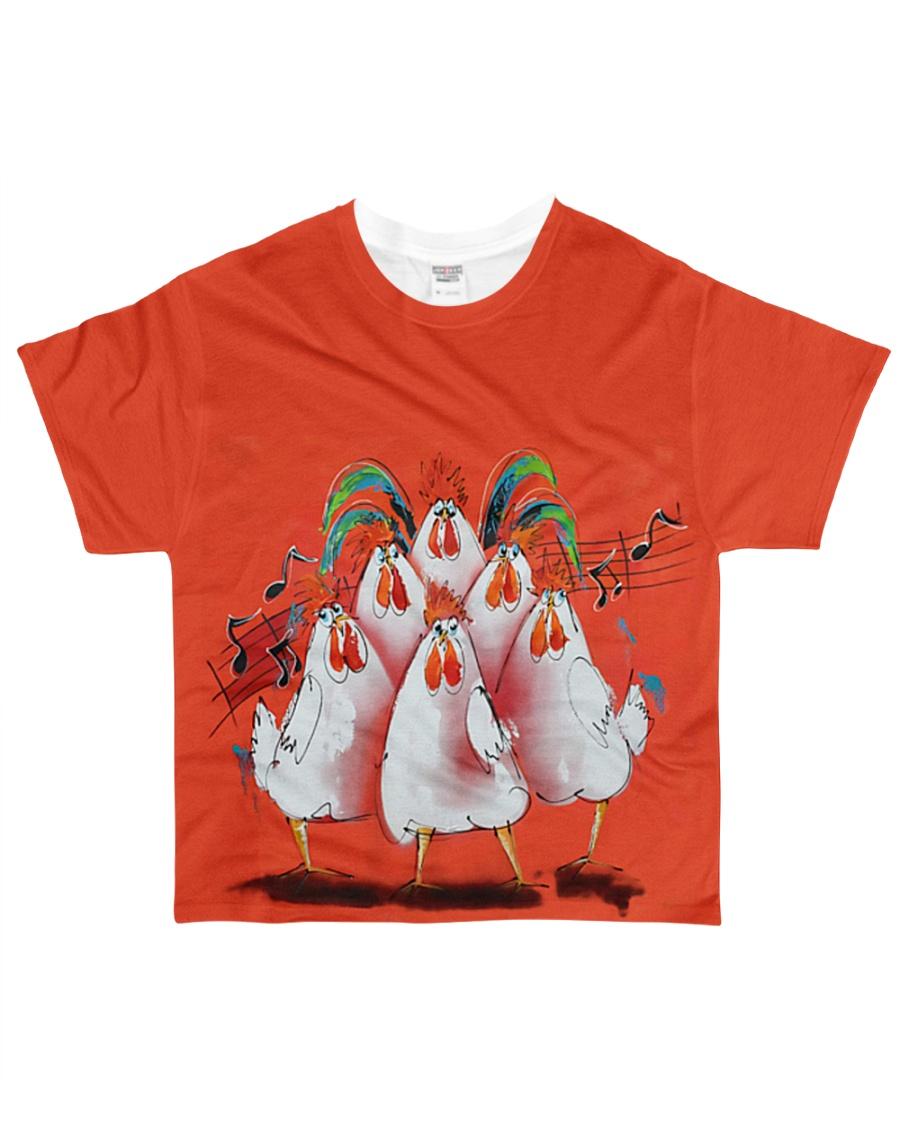 Chicken Choir NO96 All-over T-Shirt