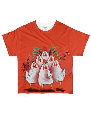 Chicken Choir NO96 All-over T-Shirt front