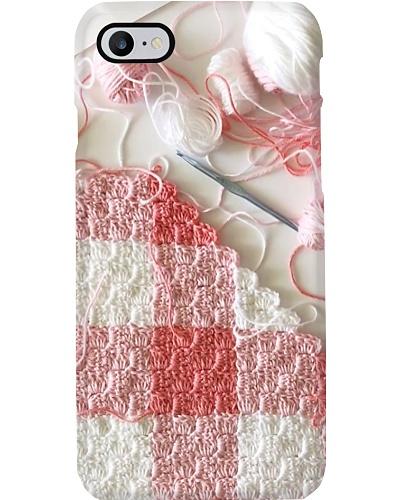 Knitting Pink Phone Case YTL2