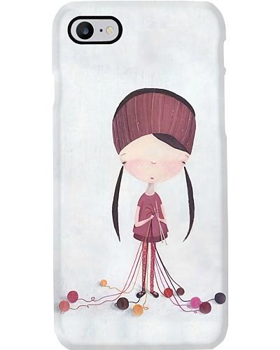 Knitting Girl Y81H1