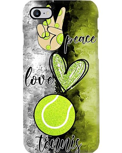 Peace Love Tennis Phone Case YCT8