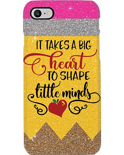 Big Heart Teacher Phone Case QE25