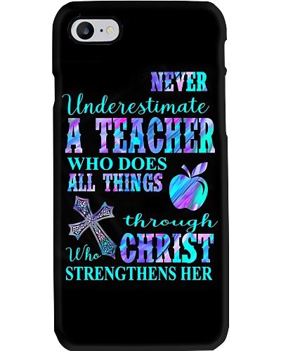 A Teacher Phone Case YTP0