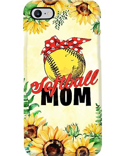 Sunflower Softball Mom Phone Case YHL3