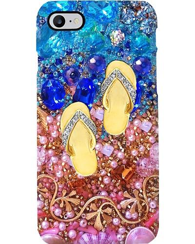 Golden Flip Flop Phone Case YHG6