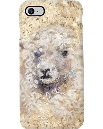 White Sheep Phone Case D19T9