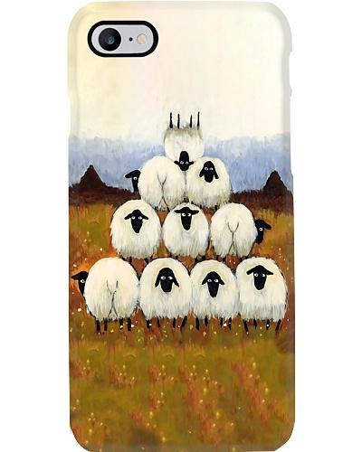 Sheep Pyramid Phone Case CH03