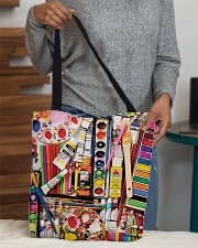 Painting Art Supplies Weekender And Tote Bag H25P3 All-over Tote aos-all-over-tote-lifestyle-front-10