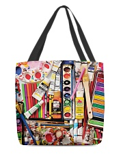 Painting Art Supplies Weekender And Tote Bag H25P3 All-over Tote front