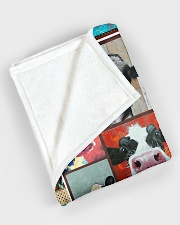 "Crazy Cows V99H9 Large Fleece Blanket - 60"" x 80"" aos-coral-fleece-blanket-60x80-lifestyle-front-08"