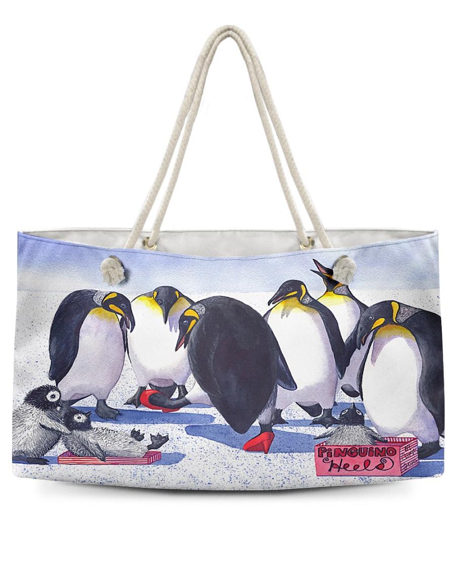 Animal Penguin Pinguino Heels Y81H1 Weekender Tote