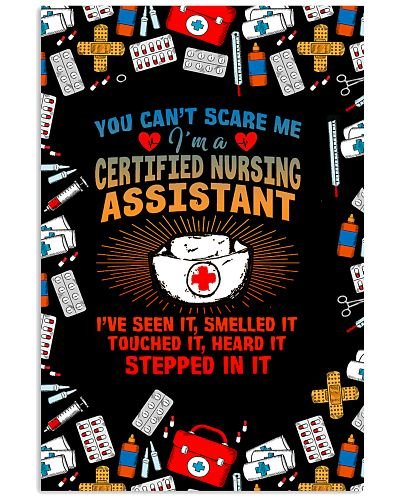 You Can Not Scare Me CNA Verical Poster YHP1
