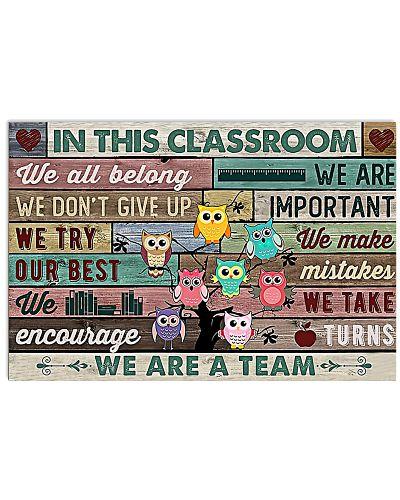 We r A Team Horizontal Poster YND5