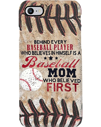 Behind Every Baseball Player Phone Case YCT8