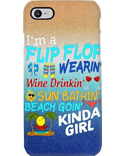 Flip Flop Wearing Kinda Girl Phone Case YTP0