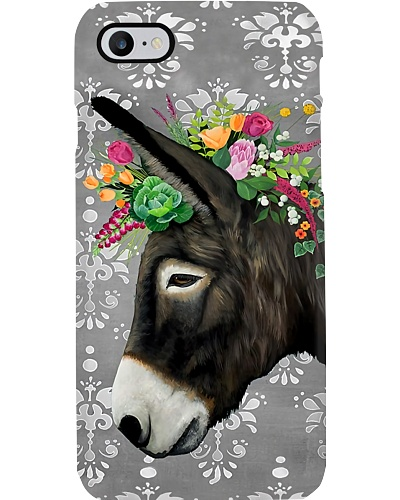 Donkey Portrait Phone Case YPM0