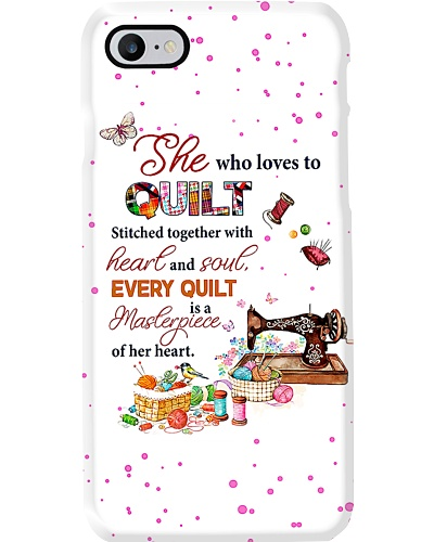 She Who Loves To Quilt T69T9