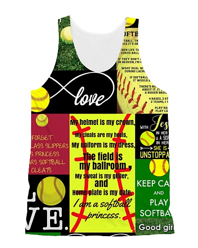 Softball Lover AOP Tank HU29