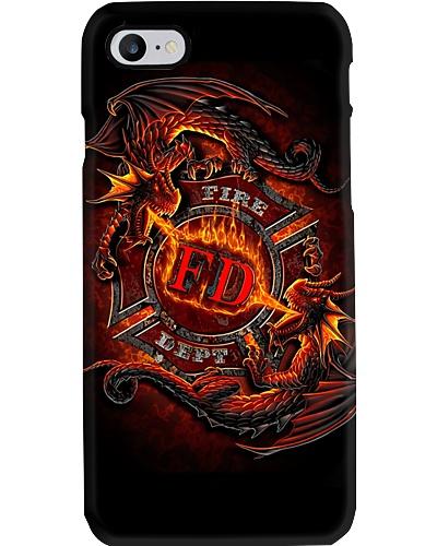 Fire Dept Dragons Phone Case QE25