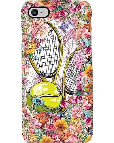 Floral Tennis Phone Case YHN2