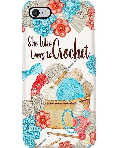 Loves To Crochet Phone Case LA99