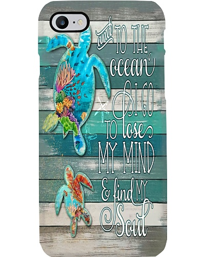 Turtle To The Ocean Phone Case YTH7