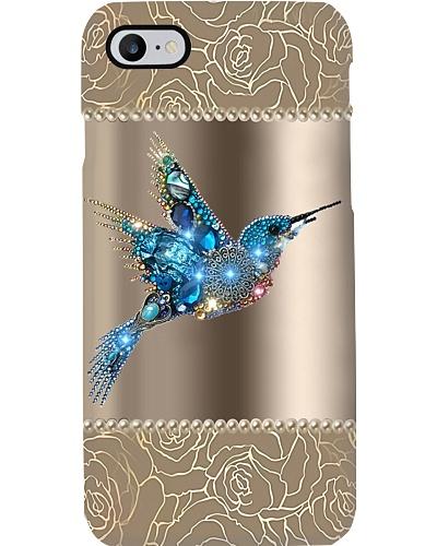 Blue Hummingbird Phone Case LV01