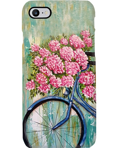Floral Bicycle Phone Case YCT8