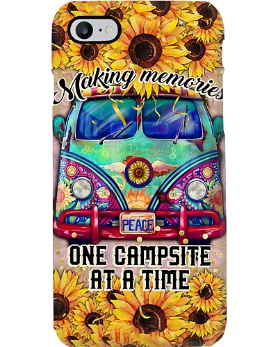 One Campsite At  A Time Phone Case DF9