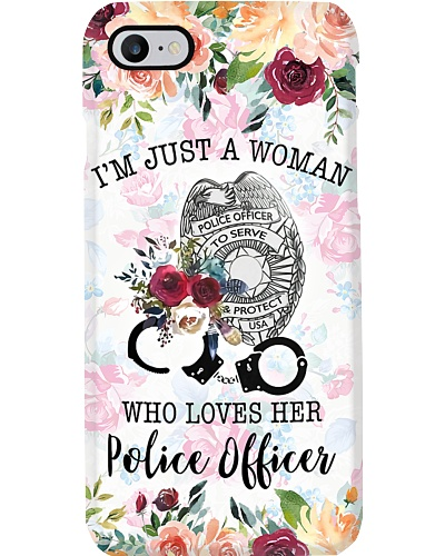 Who Loves  Her Police Phone Case CH03