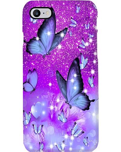 Purple Butterflies Phone Case YHA1