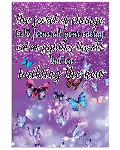 The secret of change Vertical Poster YLP8