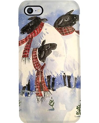 Three Little Sheep Phone Case YLT6