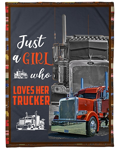 Just A Girl Who Loves Her Trucker Q22A2