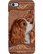 Phone Case Personalized Wooden Cavalier Y Phone Case i-phone-8-case