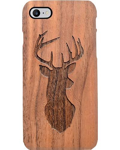 Deer Hunting Wood Phone Case YHT7