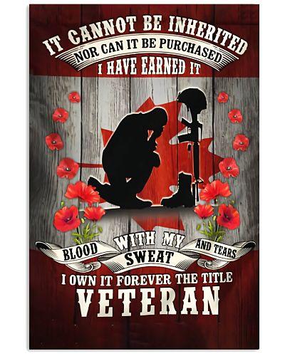 Blood Veteran Vertical Poster YNP7