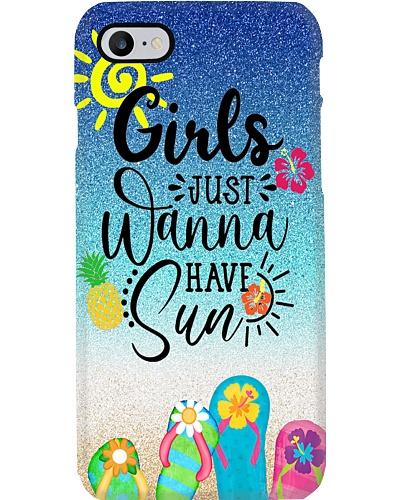 Girls Just Wanna Have Sun Phone Case YTP0