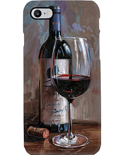 Wine Portrait Phone Case QE25