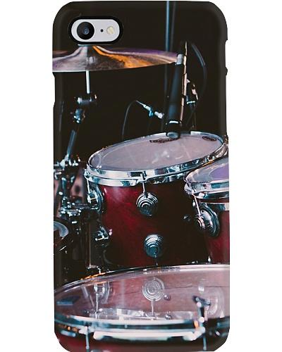 Red Drum Set Phone Case CH03