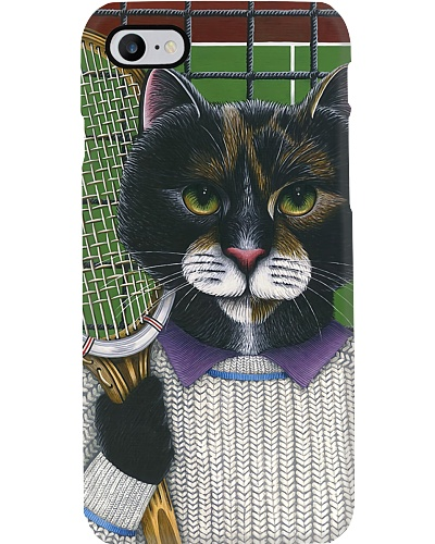 Tennis Cat Phone Case LA99
