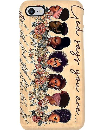 Black Girls Phone Case YQD7
