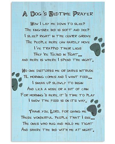 A Dog Bedtime Prayer Vertical Poster YTA8