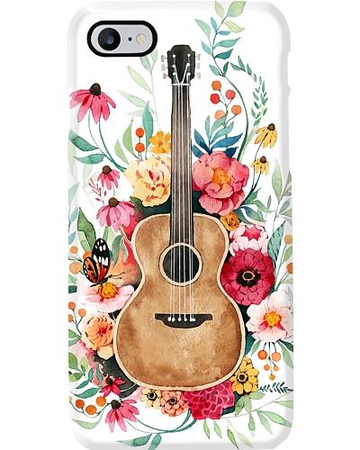 Flower Guitar Phone Case L09F2