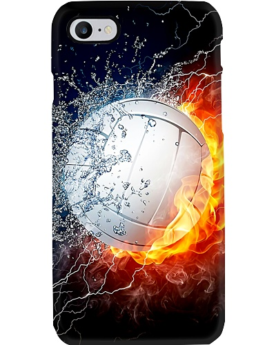 Water Fire Volleyball Phone Case CH03