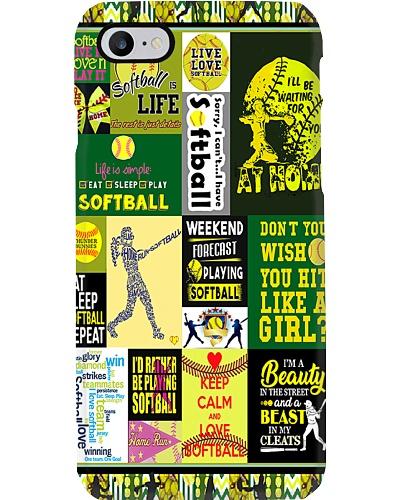 Softball Is Life Phone Case YLT6