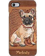 Bulldog Leather Personalized Phone Case LA99 Phone Case i-phone-8-case