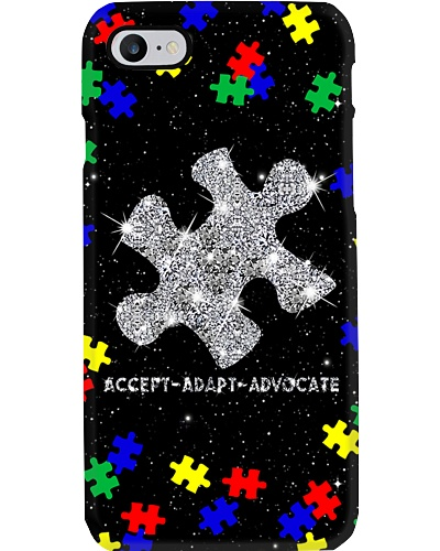 Accept Adapt Advocate Phone Case HT10