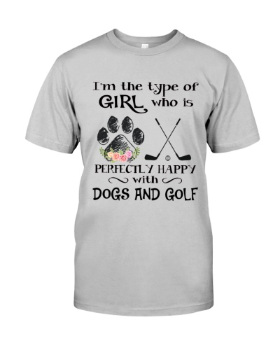Dogs And Golf HL01
