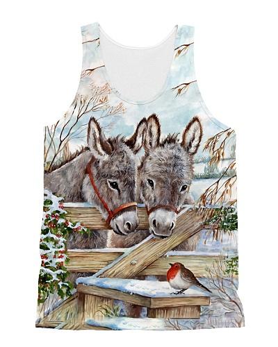 Donkeys n The Bird Tank Top QE25